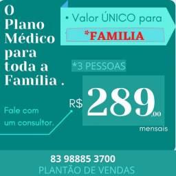 Plano Médico para a família