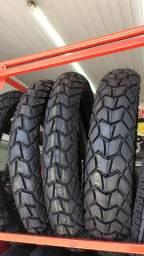 pneu traseiro para motos xre lander 120/80-18 technic entrega todo rio