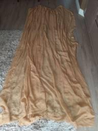 Vendo cortinas usadas de linho e voil