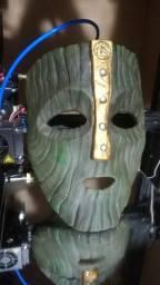 Replica da Mascara de Loki do filme O Maskara - Tamanho Real