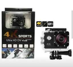 Câmera Sport 4k Utra HD.