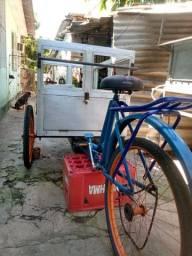 Triciclo carroça 600 reais