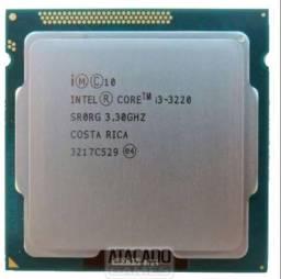 Processador i3 terceira geração 4 nucleos+ Hd sata 500GB WD (usados)