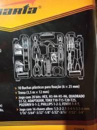 Maleta com 120 ferramentas por apenas r$ 100