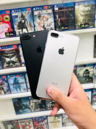 Apple// iPhone 7 Plus 32gb silver e preto