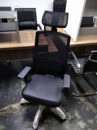 Cadeiras de escritório em ate 6x sem juros