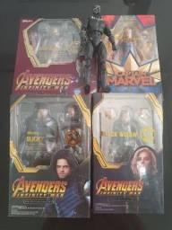 Action Figures Vingadores - 1ª linha - Novos e nas caixas