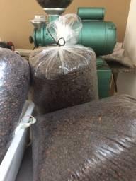 Café em grãos torrados