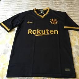 Camisa do Barcelona.