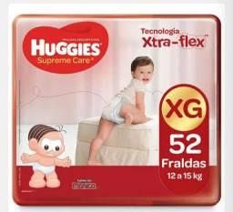 Fralda Huggies Supreme Care XG 52 Unidades
