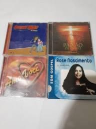 CD ROSE NASCIMENTO,PAIXÃO DE CRISTO,AMO VOCÊ OU GOSPEL NIGHT