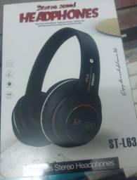 Headphone bluetooth st-l63-entregamos em domicílio