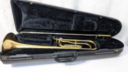 Trombone Yamaha Japão Vara Tenor De Rotor Ysl-356g Original