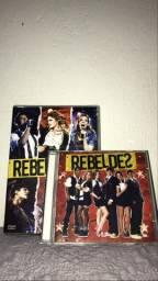 DVD e CDs do rebeldes