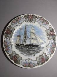 Prato decorativo em porcelana Inglesa original
