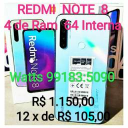 REDMI Note 8 64GB novo Película Gratis