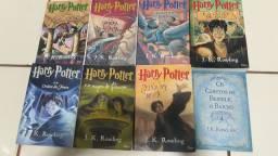 Saga harry potter 8 livros em português