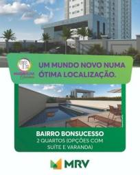 Apartamento 02 Quartos com garagem - Av. Maxwel - Bonsucesso - Á partir de R$ 215.900