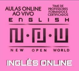 N.O.W Inglês VIP - Professores certificados - 1 aula Grátis
