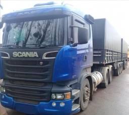 Scania R-440 (6x4) Bitrem Randon 9 Eixos Ano 2013