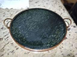 Forma de pizza de Pedra Sabão