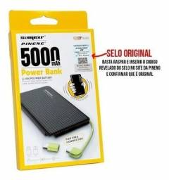 Carregador Portátil Power Bank 5.000 Mah Universal (aceito cartão)