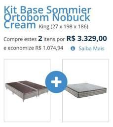kit base + Colchão Superpocket Pró-Saúde Spring
