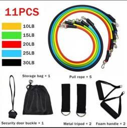 Kit com 11 elasticos resistente