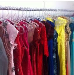 Bazar de vestidos de festa