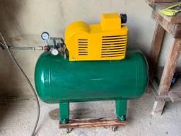 Compressor de ar 10 pes 100 litro 2hp