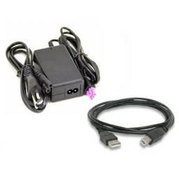 Cabo USB e Fonte Multifuncional HP deskjet 1516