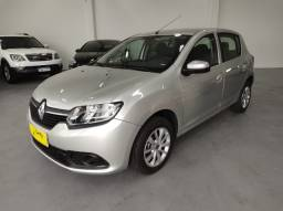 Renault Sandero Expression 1.0 Flex | 2017 | *Completo - Multimidia - Oportunidade