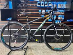 Bicicleta mtb aro 29 Athor Android 21v shimano Nova com Nota fiscal