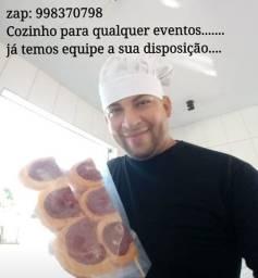 Cozinheiro a sua disposição