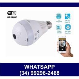 Entrega Grátis * Lâmpada Câmera Wi-Fi Panorâmica Celular * Potente * Chame no Whats