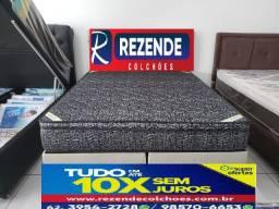 Cama Box Com Colchao OrtoHotel Ortobom Queen Size 158x198 Linha Hotelaria