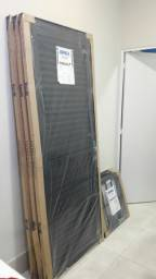 Porta Laminada Black Alumínio Premium 084x215 Lançamento