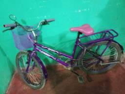 Vendo essa bicicleta nova aro 24