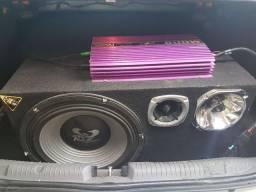 Caixa de som para o carro