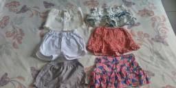 Lote de roupa de 2 a 4 anos