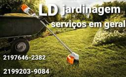 Jardinagem/serviços gerais.