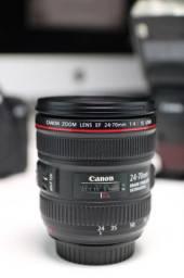 Lente Canon 24 70mm F/4 Macro