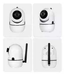 Camera Ip Wireless Knup Ípega Sensor De Movimento Kp-ca173