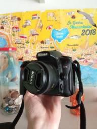 Câmera Nikon D90 + Lente Nikon 50mm + Acessórios