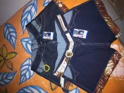 bermudas jeans novas