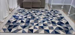 Tapete supreme Ladrilho 2,00m x 2,50m azul