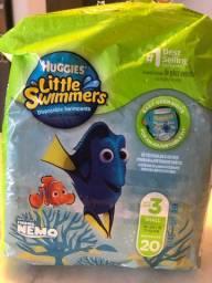 28 Fraldas Huggies Little Swimmers P
