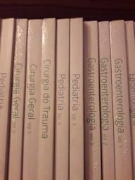 Coleção de livros de medicina