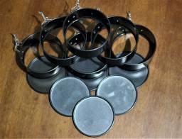 Assadeira Redonda de antiaderente em aço carbono redonda - 4.72inch