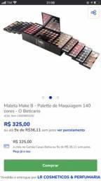Maleta Boticário 140 sombras